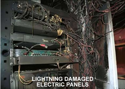 Lightning Damage to Electrical Box